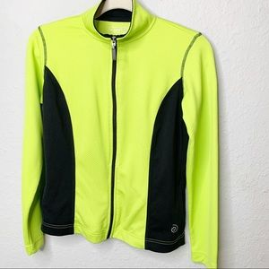 Be inspired Neon Green and Black Jacket XSM